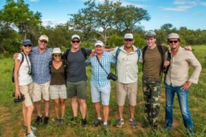 corporate safari game drive