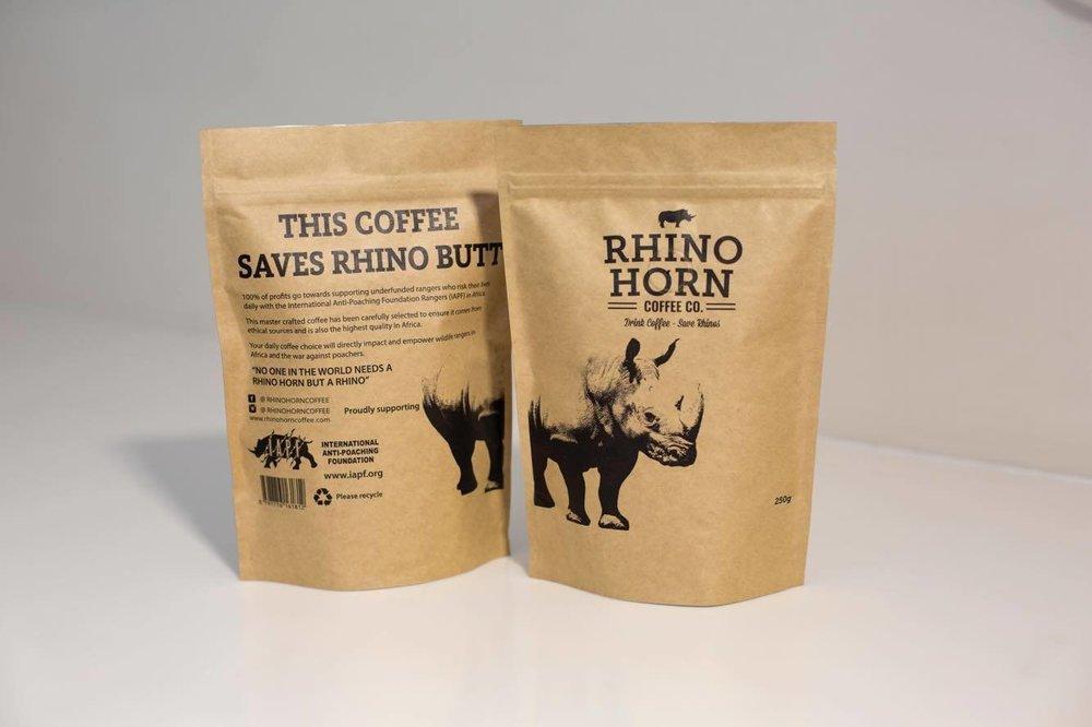 Rhino Horn Coffee Beans