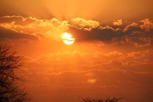 sunset karongwe3