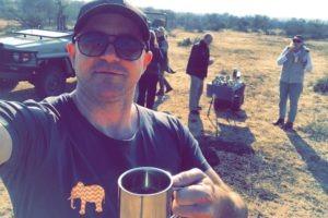 best safari game drive with coffee