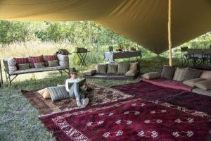 Botswana mobile safari relax