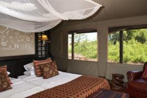 Desert Rhino Camp Tent Interior