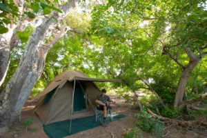 Ecotraining Mashatu Tent