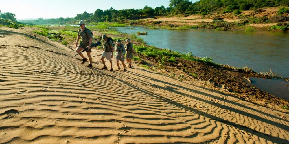 Makuleke-students-walking-dunes