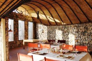 Etambura Camp Dining Area