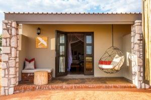 Kalahari Anib Lodge Private Terrace