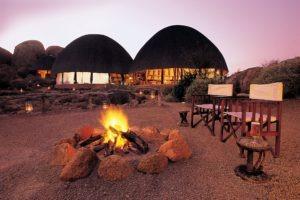 Mowani Mountain Camp Fire Place