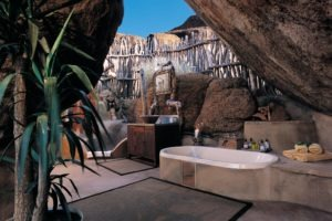Mowani Mountain Camp Room Interior Bathroom