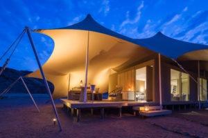Northern Namibia Hoanib Skeleton Coast Camp Guest Tent Exterior