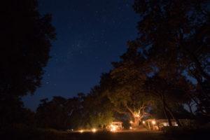Northern Tuli Mashatu campfire