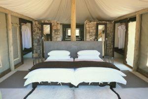 Onguma Tented Camp Tent Interior