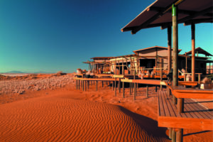 Wolwedans Dune Lodge Main Area External View