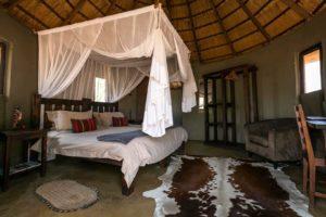 africa on foot bedroom interior