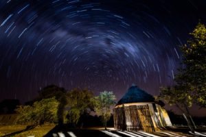 africa on foot star trail