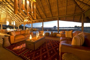 camp hwange lounge
