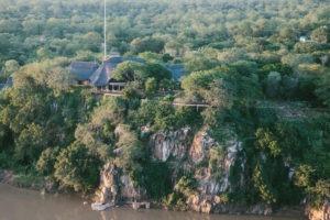 chilo gorge gonarezhou aerial far