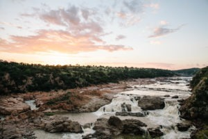 chilo gorge gonarezhou sunset waterfalls