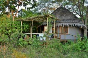 chobe bakwena lodge room exterior