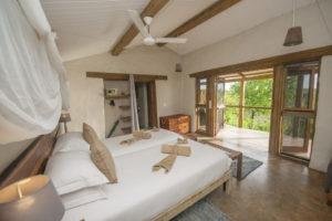 chobe elephant camp bedroom inside
