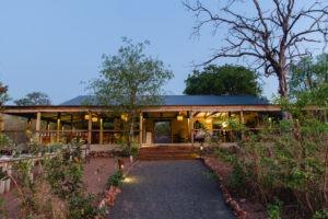 chobe elephant camp dining area