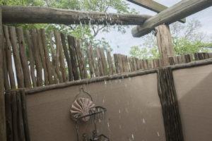 chobe elephant camp outdoor shower
