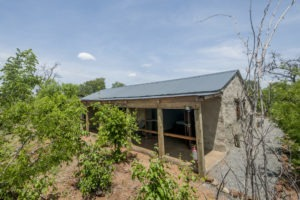chobe elephant camp room outside