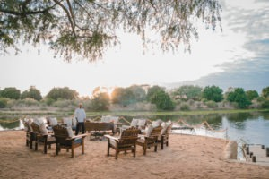 chongwe river camp breakfast