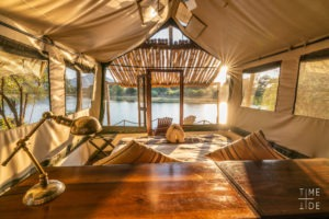 chongwe river camp tent view