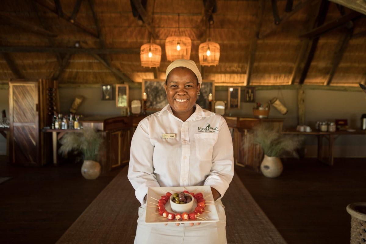 dinaka chef food staff