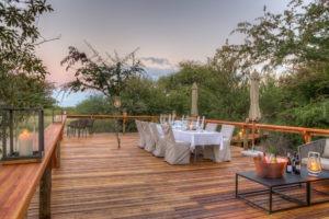 dinaka dining area deck