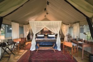 duba expedition camp botswana tent interior