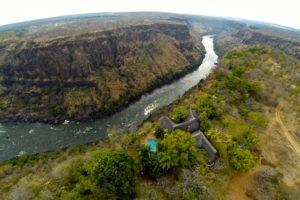 gorges loge vicfalls aerial