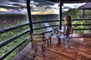gorges loge vicfalls guest balcony