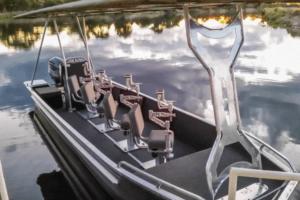 houseboat photographic safari chobe river photo boat prep