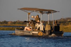 houseboat photographic safari chobe river photography boat