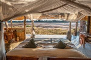 kakuli camp bedroom view