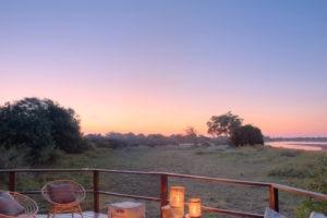 kakuli camp fireplace sunset
