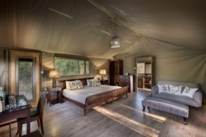 linyanti bush camp room