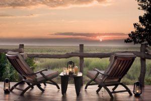 linyanti bush camp sundowner view 1