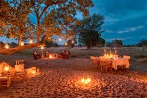 luwi camp lantern evening