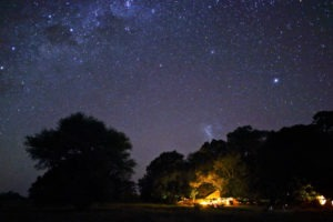 luwi camp night sky