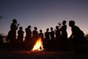 makgadikgadi pans bushmen experience tribe dancingg