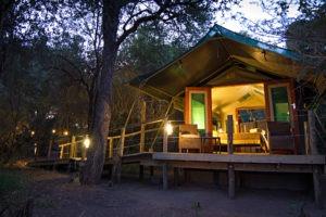 mashatu tented camp exterior