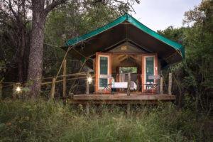 mashatu tented camp outside