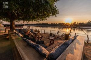 mchenja camp lounge view
