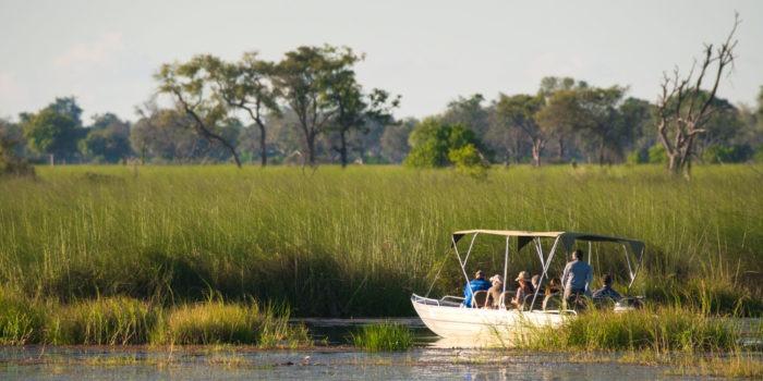 moremi boat okavango delta safari