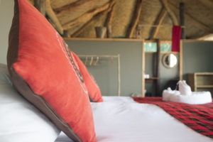 musekese kafue chalet pillow