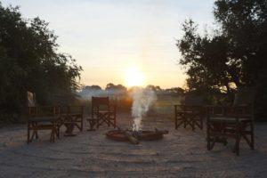 musekese kafue fireplace sunrise