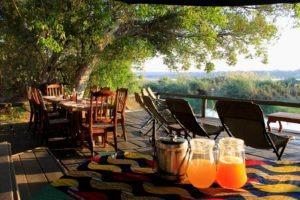 mutemwa lodge zambezi chairs