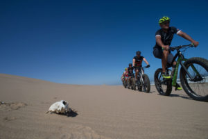 namibia fat bike ride through desert